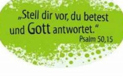 Hör-Gottesdienst zum Sonntag Rogate (17. Mai 2020):