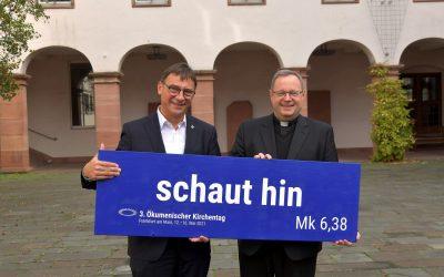 """""""schaut hin"""": Ökumenischer Kirchentag digital – vom 12. bis 16. Mai 2021 (FfM)"""